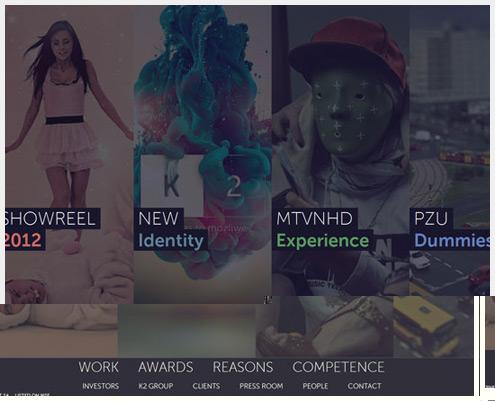 40个新鲜的网站设计灵感