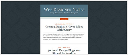 50+有创意的个人博客网页展示