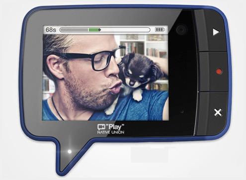 PLAY磁性可粘贴创意视频录像留言机