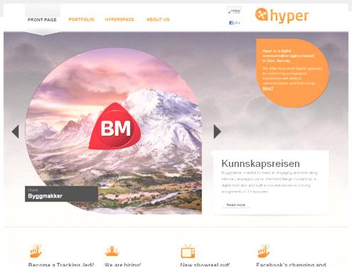 45个HTML5网站设计实例