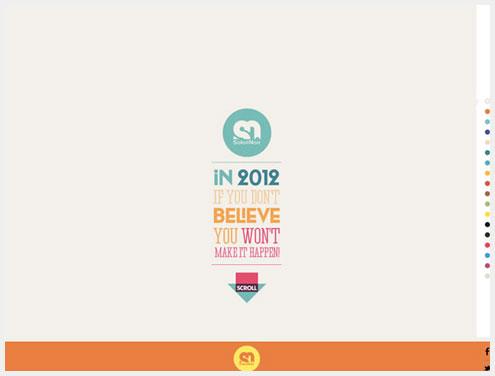 18个有创意的滑动效果在网页设计中的运用