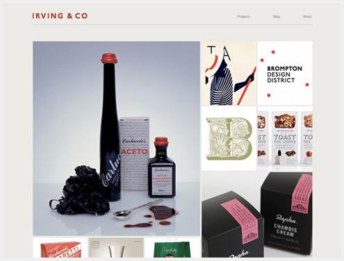 20个简约设计的网站创意
