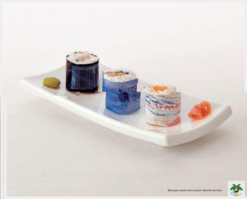 60个创新意识的广告设计