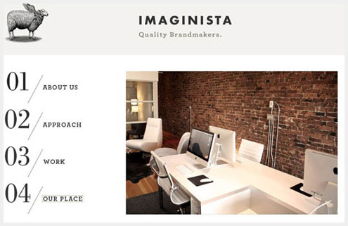 50个优秀网站的固定导航菜单设计例子