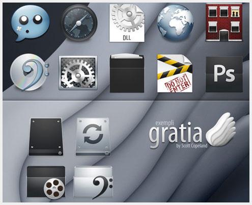 18个苹果风格免费创意图标素材