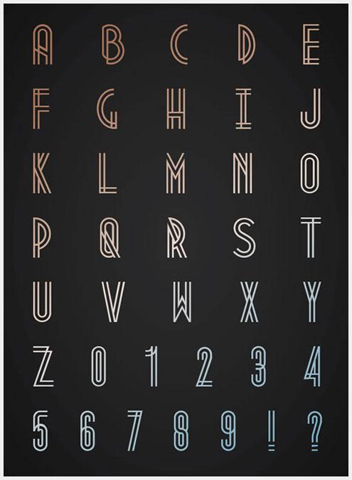 10个超好用的新鲜免费字体