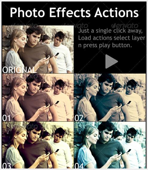 10个提高摄影后期的高级Photoshop动作欣赏