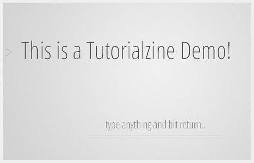 40个免费新鲜的jQuery插件和教程