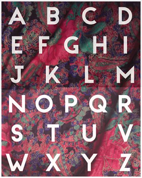 8个漂亮新鲜的字体