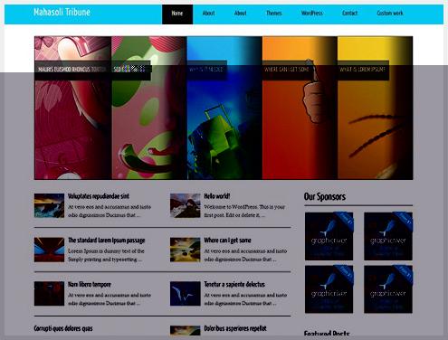 35个免费专业的WordPress主题