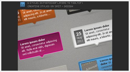 15个高品质提示图标PSD模板素材