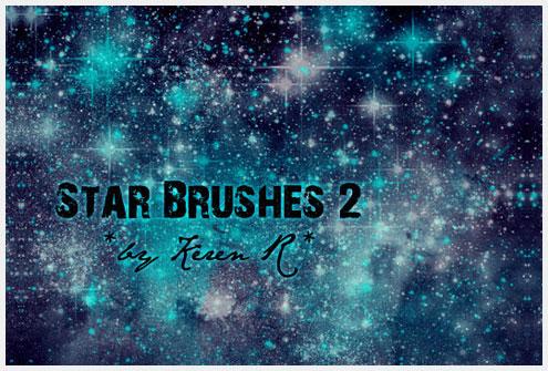 15个惊人的免费日月星辰Photoshop笔刷素材