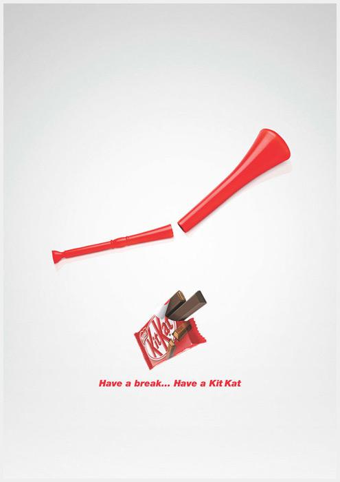 让人难忘的灵感极简平面广告
