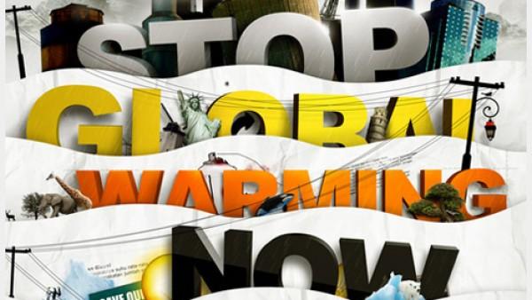 36个全球变暖的意识海报创意
