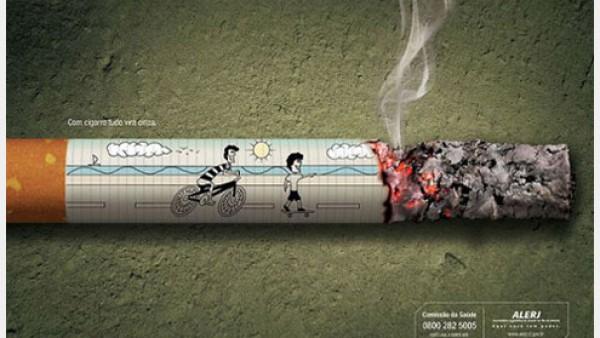 53个反吸烟广告创意设计
