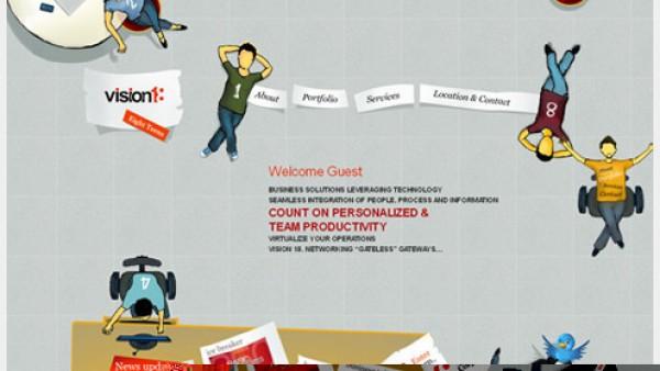 优秀的HTML5网页设计抓住你的视线