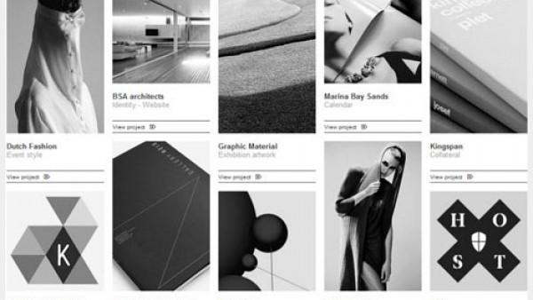 20个完美简约的网页设计展示