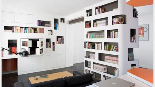 巴黎设计师的60平米开放式公寓
