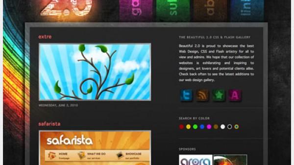 30+提交您的网站设计给你灵感的聚集地