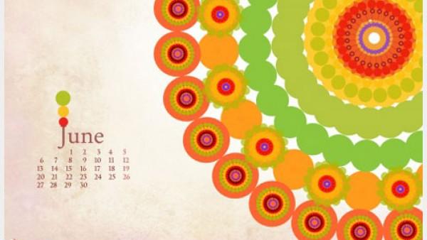 2011年6月-日历桌面壁纸精选