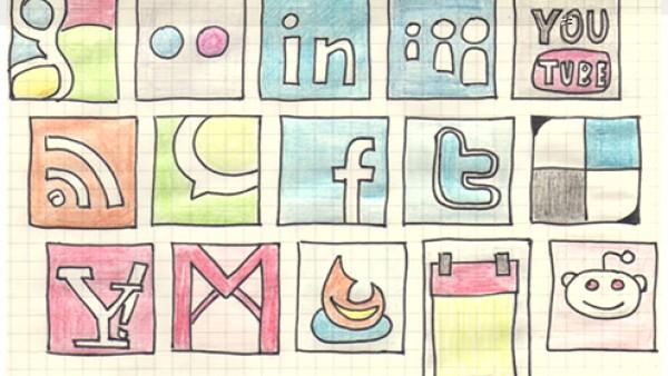 终极收藏之高质量的社会媒体图标集