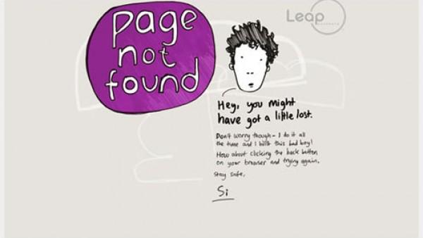 35个有创意的404错误页面