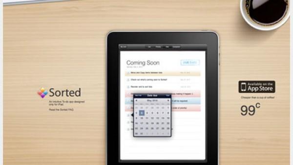 20个iPad版网站设计的启示