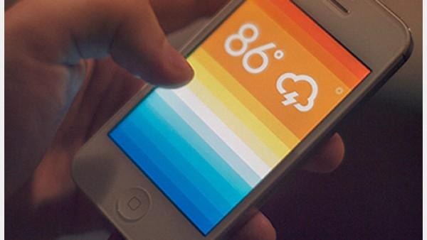 45+美丽新鲜的云图标创意设计