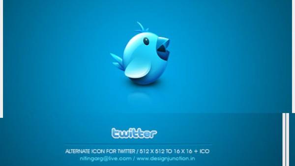 16个免费的高品质Twitter图标下载