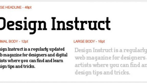 10个免费的Slab Serif字体
