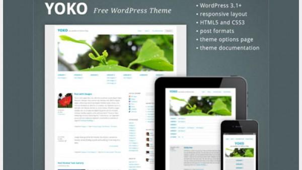 15个免费Wordpress主题无缝兼容移动设备