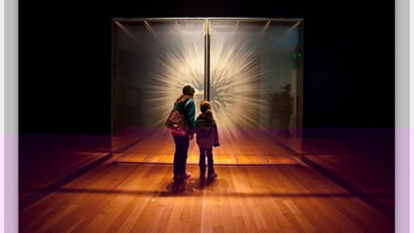 神奇的三维玻璃画