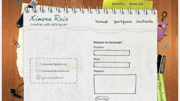 网页设计中有创意的表单设计
