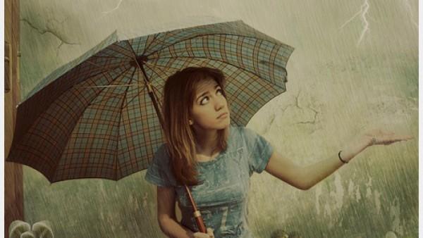 50个完美雨中摄影的例子