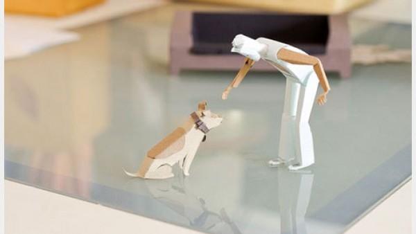 3D纸模型的无限创意