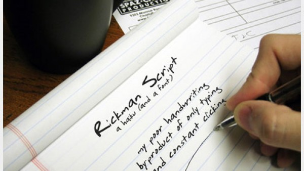 16个有用的免费手写字体素材