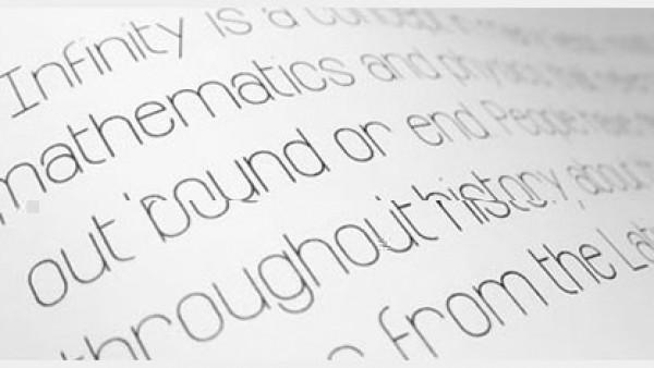 20个新鲜免费的标题字体
