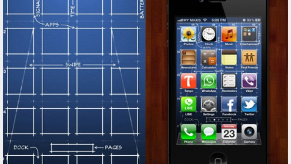 40个有创意的iPhone主屏幕壁纸