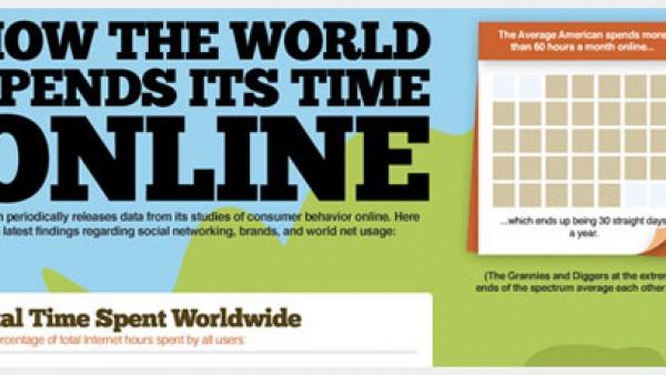 10个有创造力的关于互联网的信息图形设计