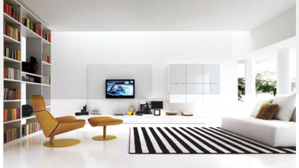 令人难以置信的室内客厅设计理念