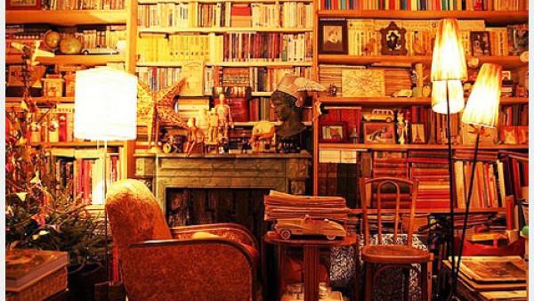 我未来的家一定要有个书架