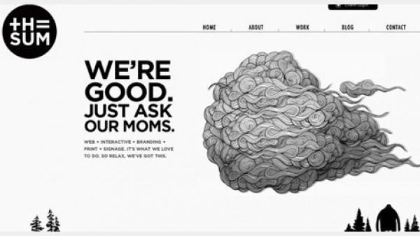 30个简洁优雅的网页设计