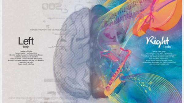 奔驰平面广告——左脑VS右脑