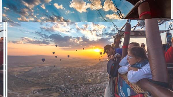 有没有想过在热气球上环游世界
