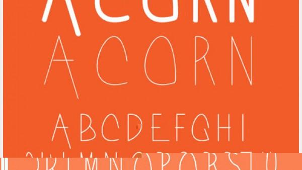 8个漂亮的新鲜字体