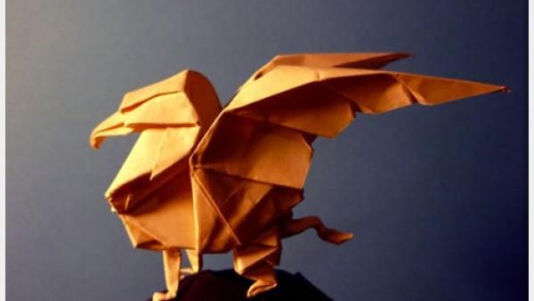 23个创意折纸艺术作品