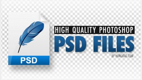 分享60个高品质PSD文件