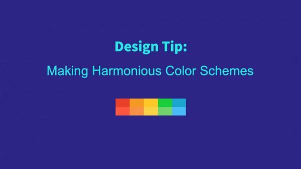 设计技巧:制定和谐的配色方案