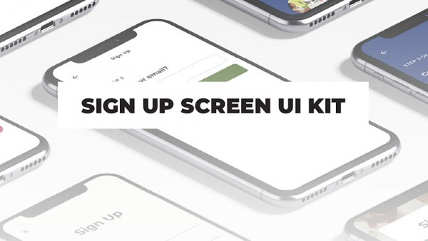 注册界面UI套件源文件下载