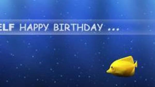 祝自己生日HAPPY ...